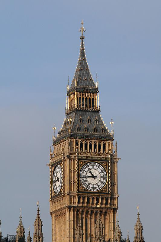 Big Ben close up