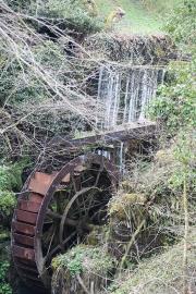 Derelict water wheel