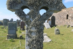 Celtic moss cross