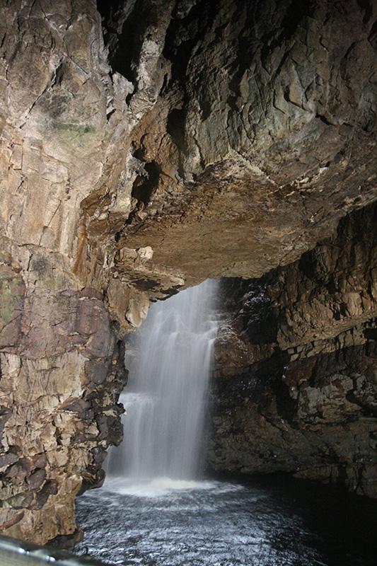 Smoo cave waterfall 2