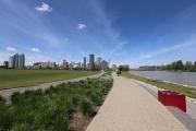 River path & Downtown