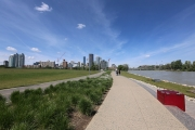 River path & Downtown