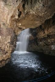 Smoo cave waterfall 1