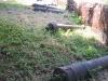 Abandoned cannon