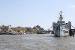 London & HMS Belfast