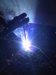 Welding flame