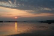 Sunset over Ledaig point