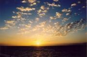Sunset over Gibraltar