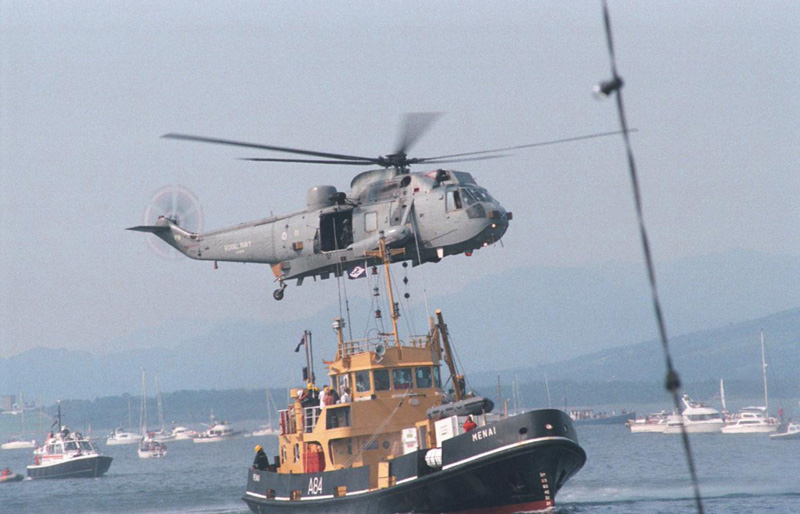 Air sea rescue exercise