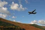 Low flying C130