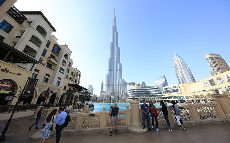 Me & the Burj Khalifi